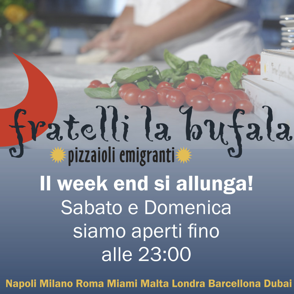 il week-end si allunga