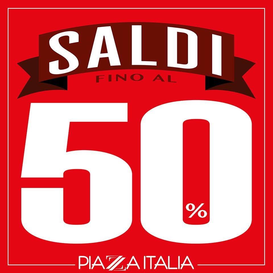 Saldi fino al 50% da Piazza Italia