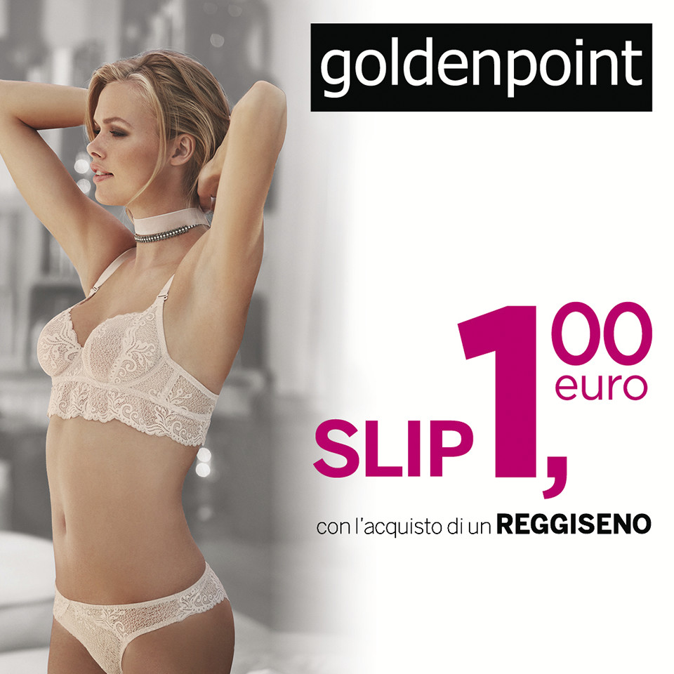 Collezione intimo Goldeinpoint