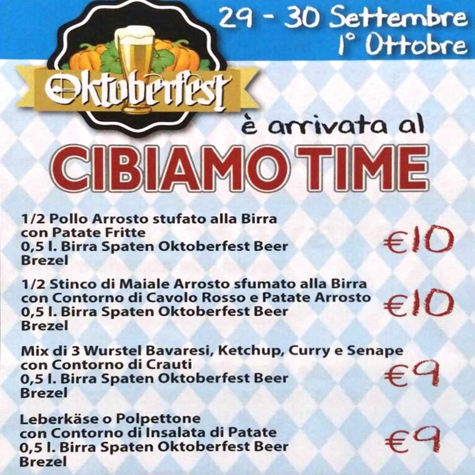 Oktoberfest al Maestrale di Senigallia!