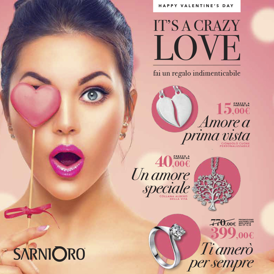 Crazy love Sarni Oro