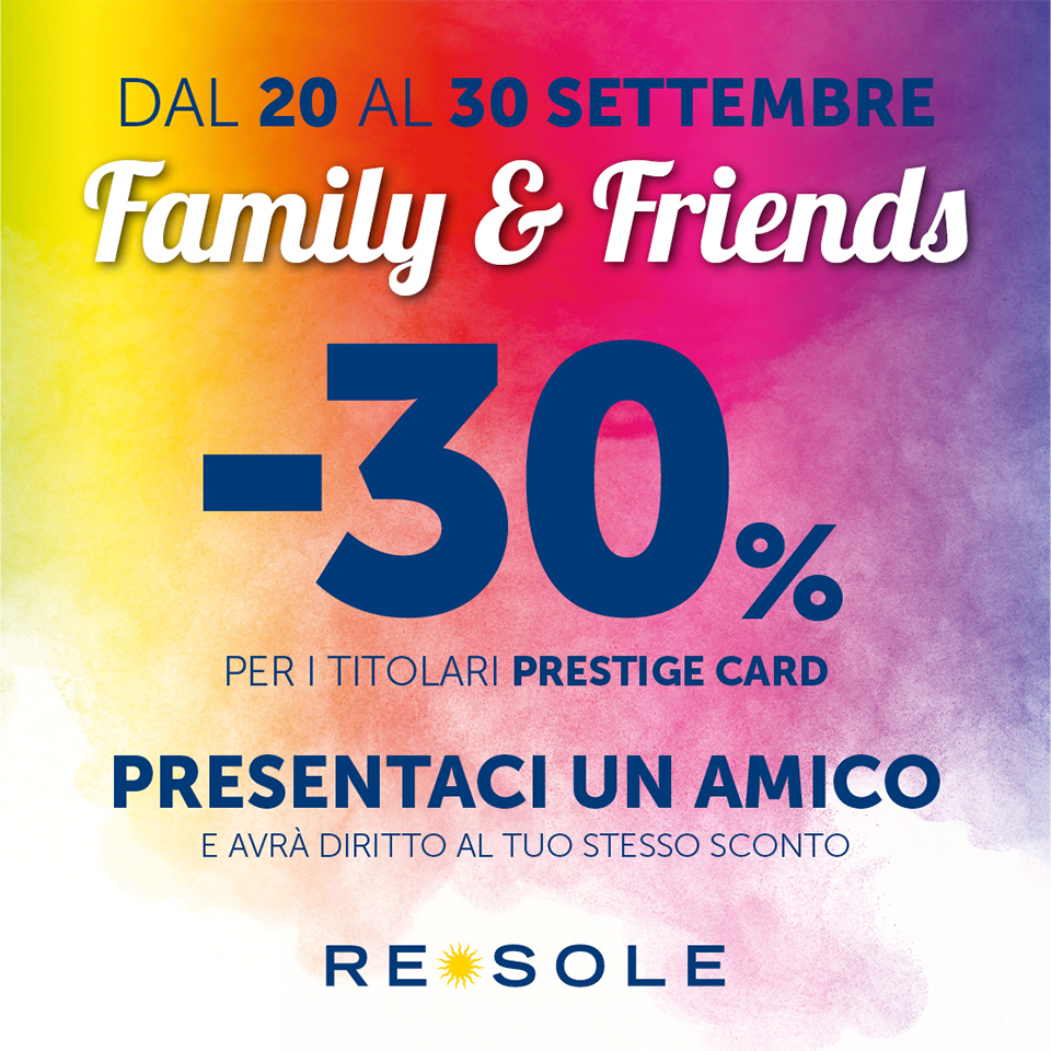 Re Sole FAMILY&FRIENDS