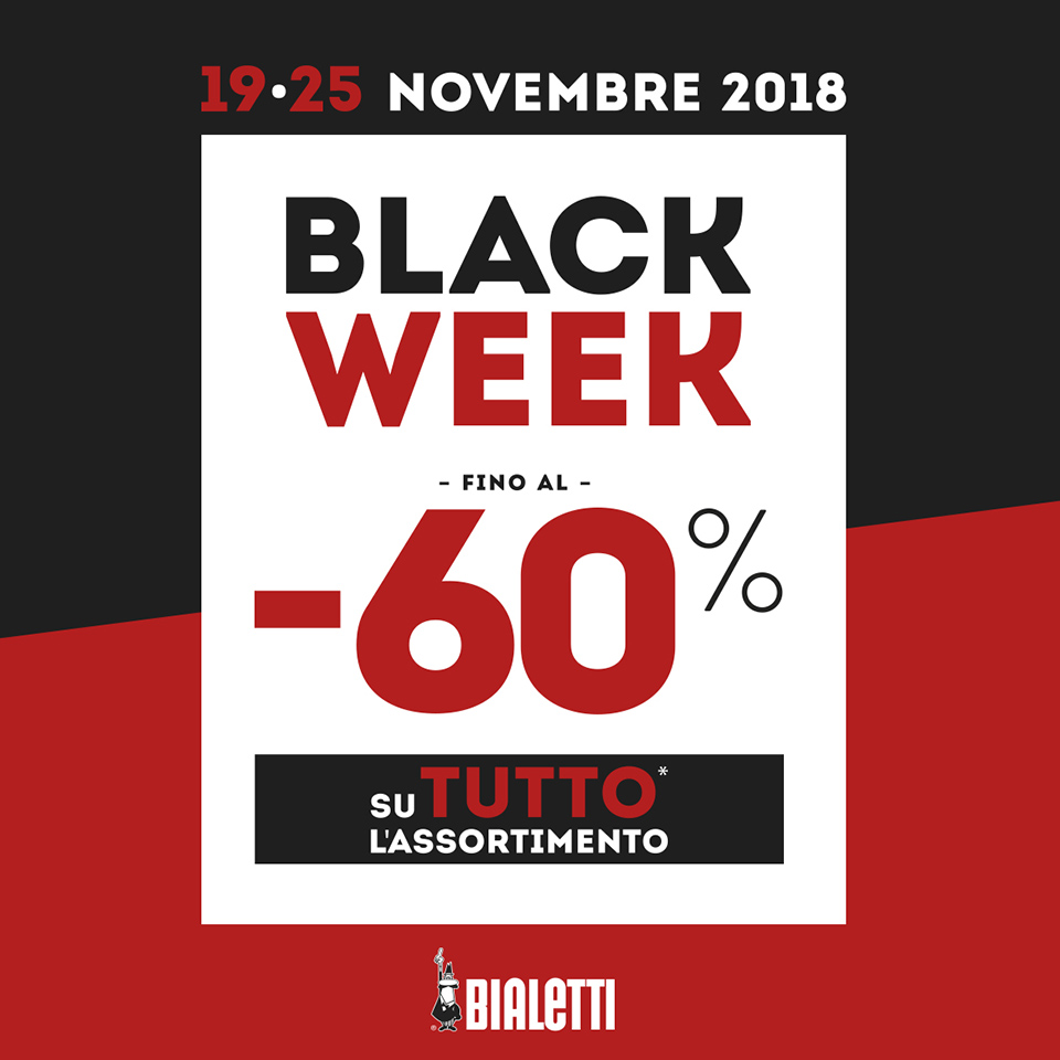 Bialetti Black Week 2018