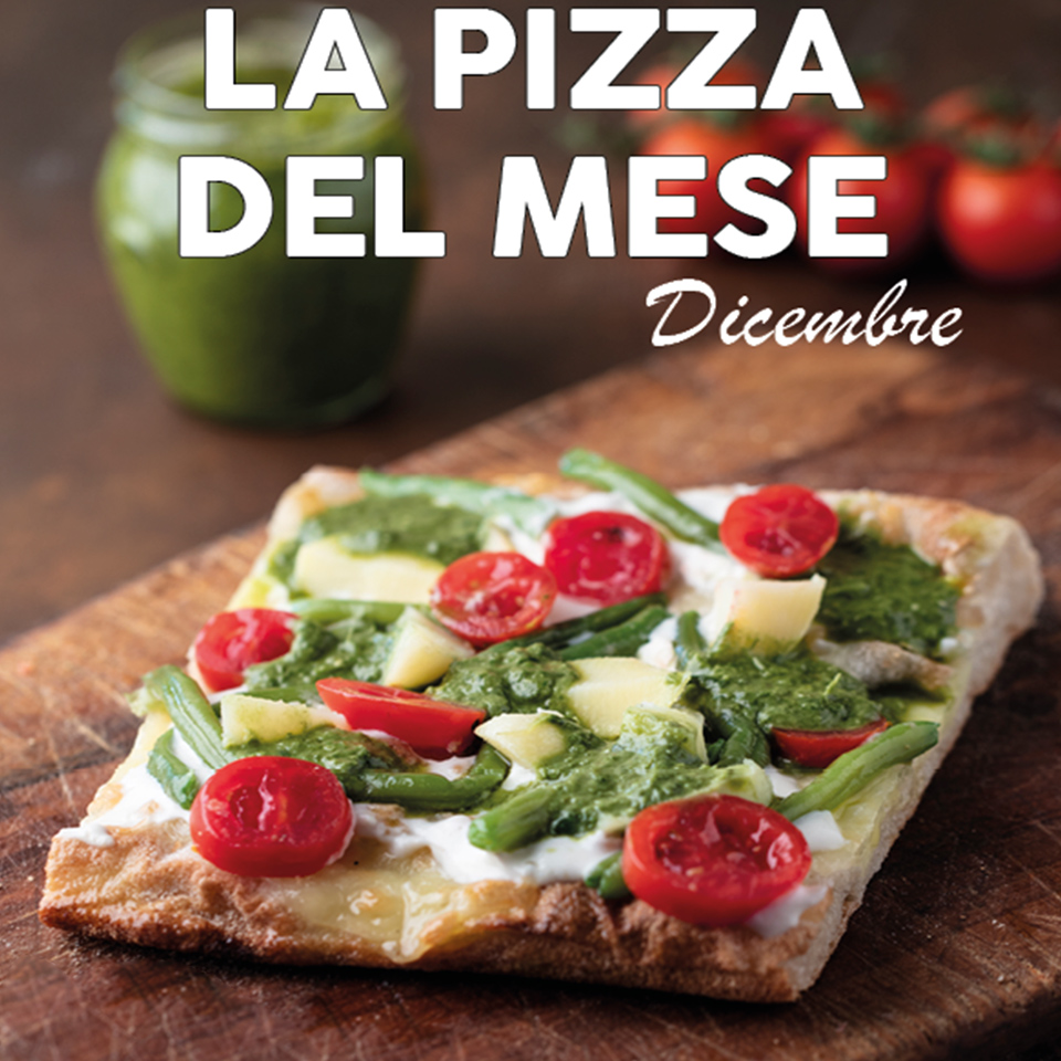 Cibiamo TIME - pizza del mese DICEMBRE2018