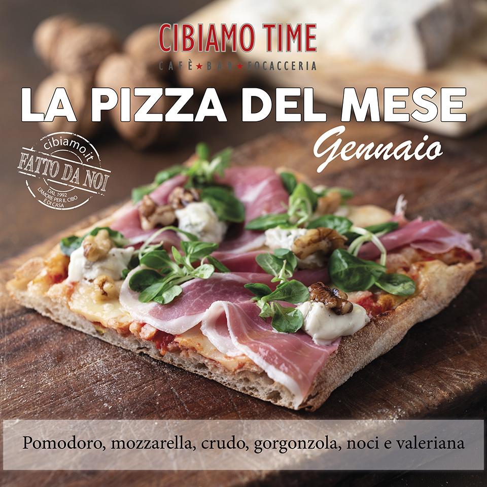 Cibiamo TIME - pizza del mese GENNAIO 2019