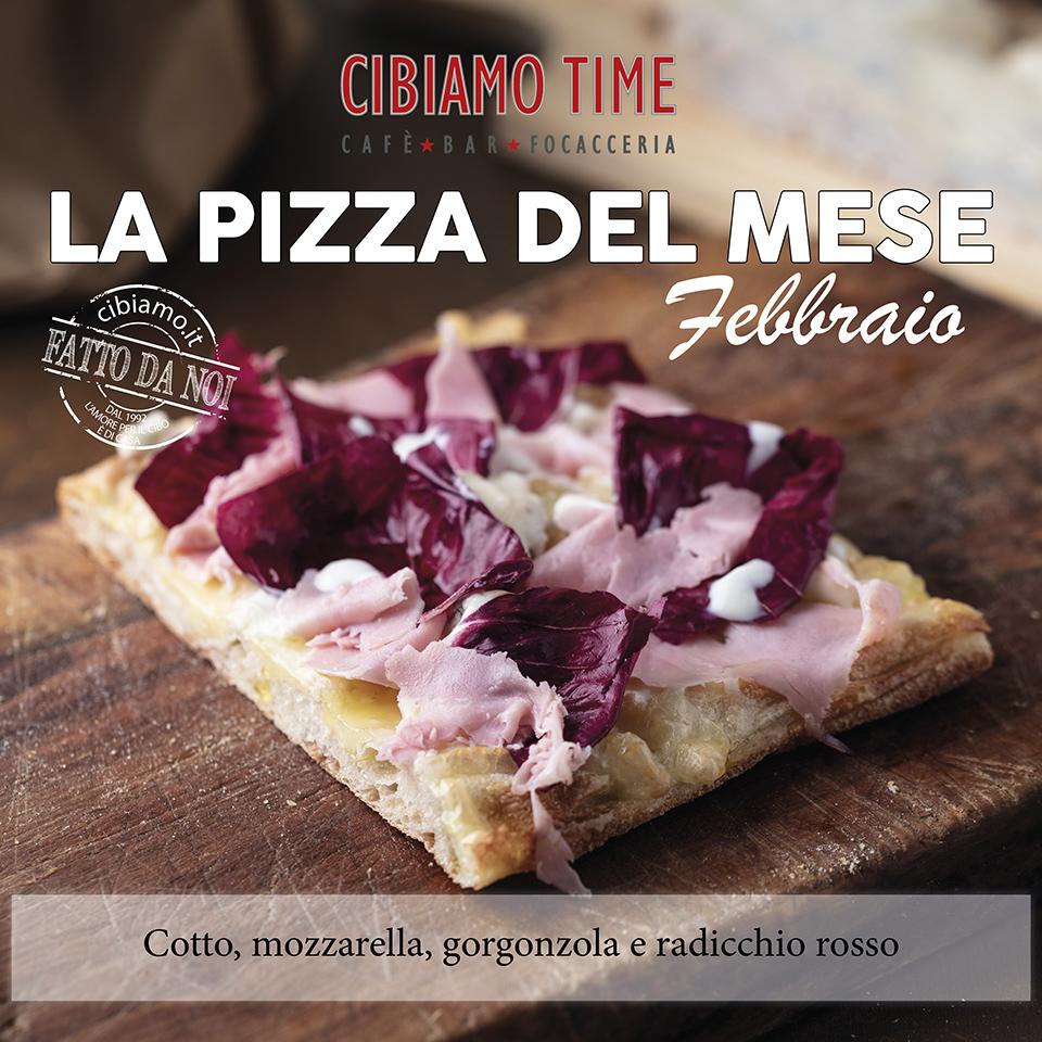 Cibiamo TIME - Pizza del mese FEBBRAIO 2019