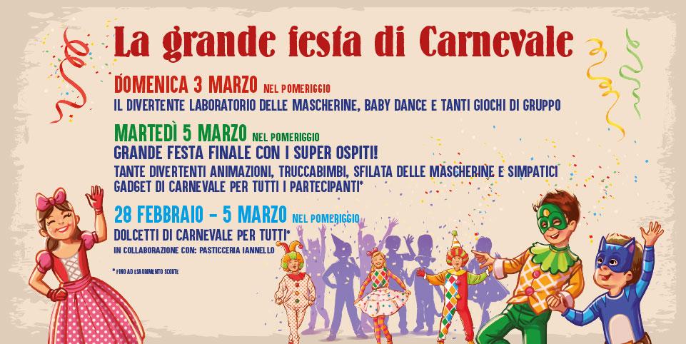 Carnevale 2019 al Maestrale - il programma