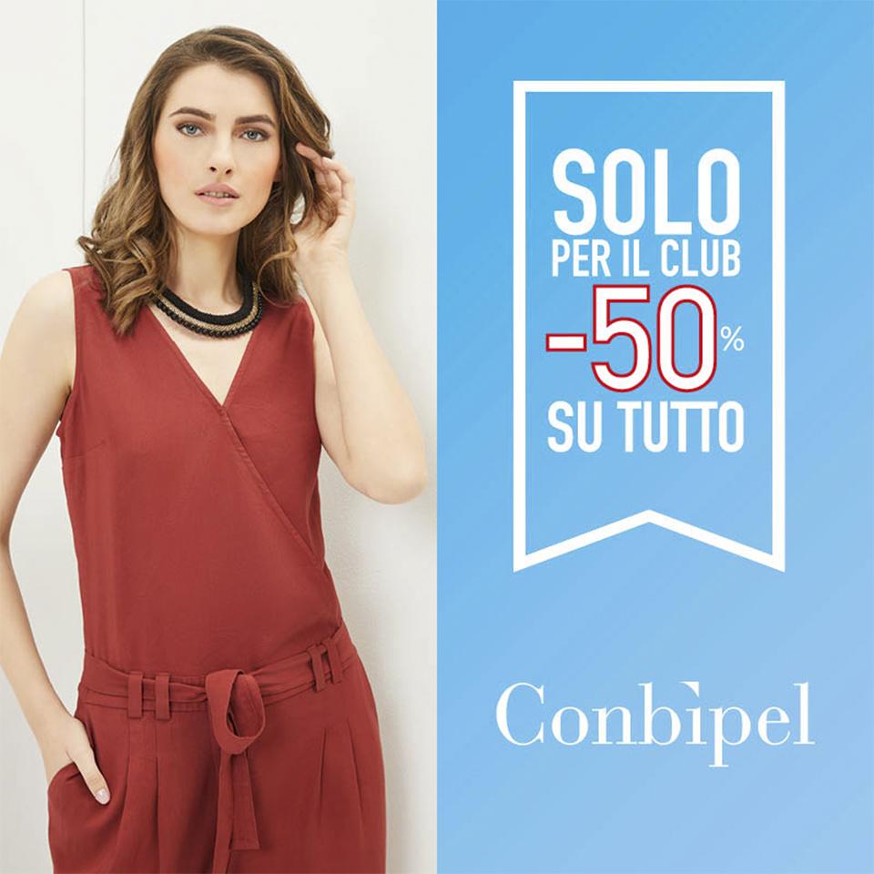 CONBIPEL SOLO PER IL CLUB TUTTO AL 50%