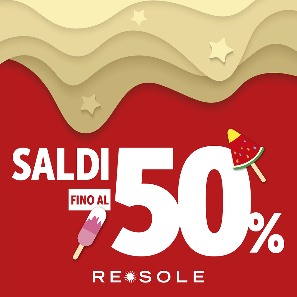 saldi estate 2019 - RE SOLE