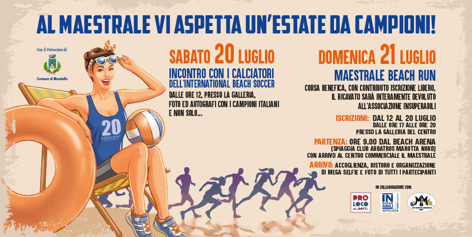 Evento estate da campioni 2019