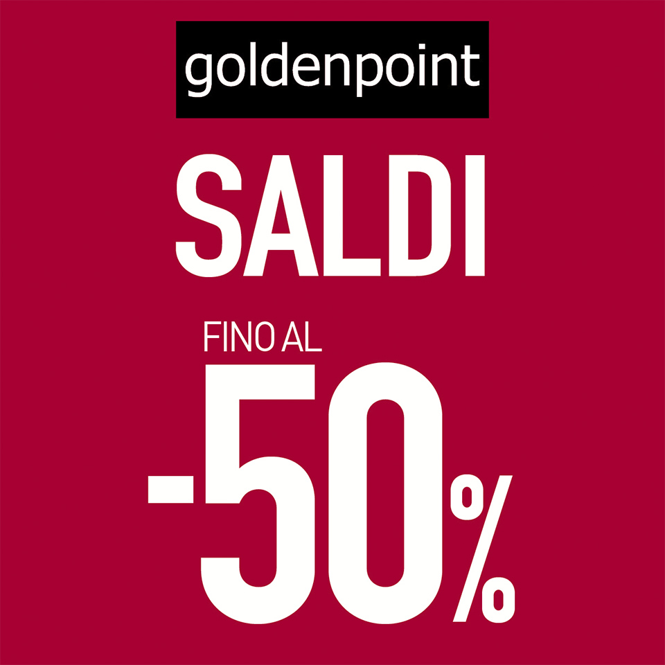 Saldi estate 2019 - Goldenpoint