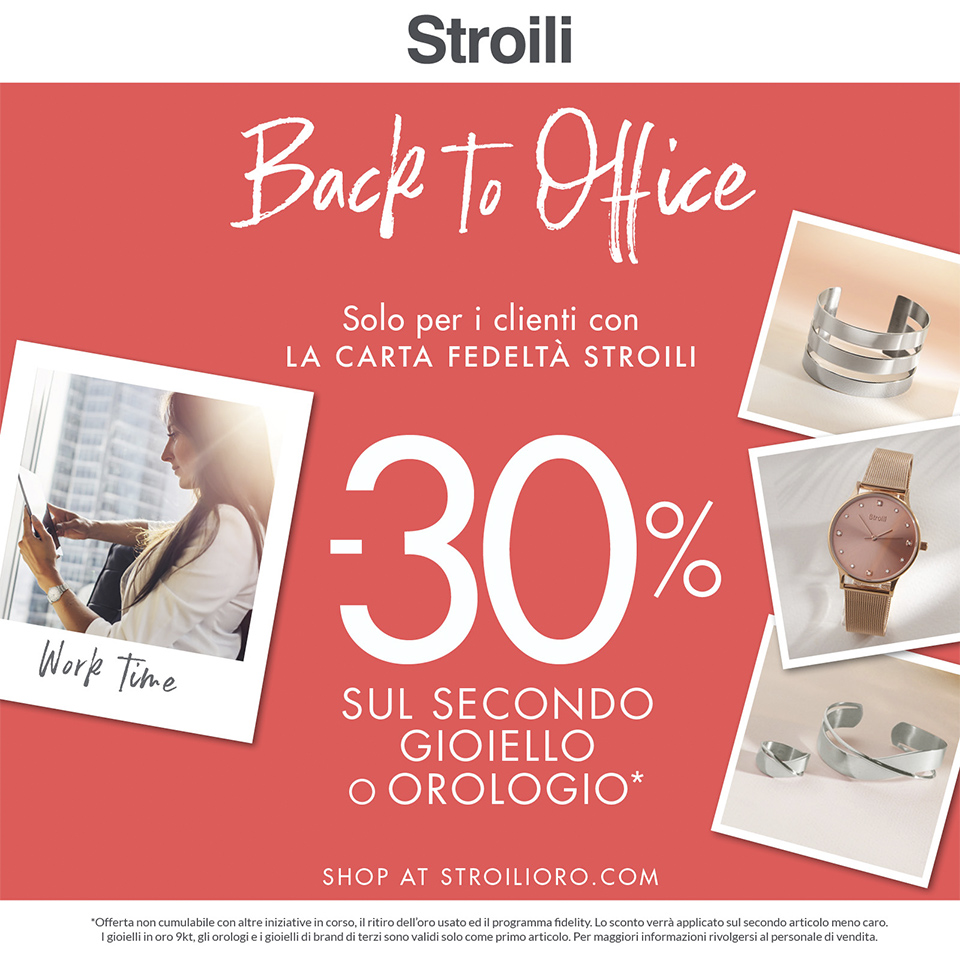 Stroili - Back to Office 2019