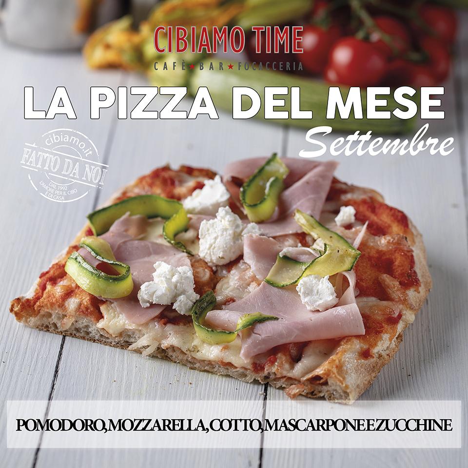 Cibiamo Time Pizza del mese SETTEMBRE 2019