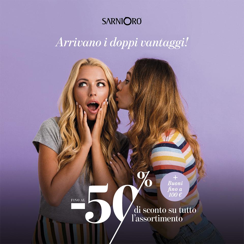 Doppi vantaggi SarniOro