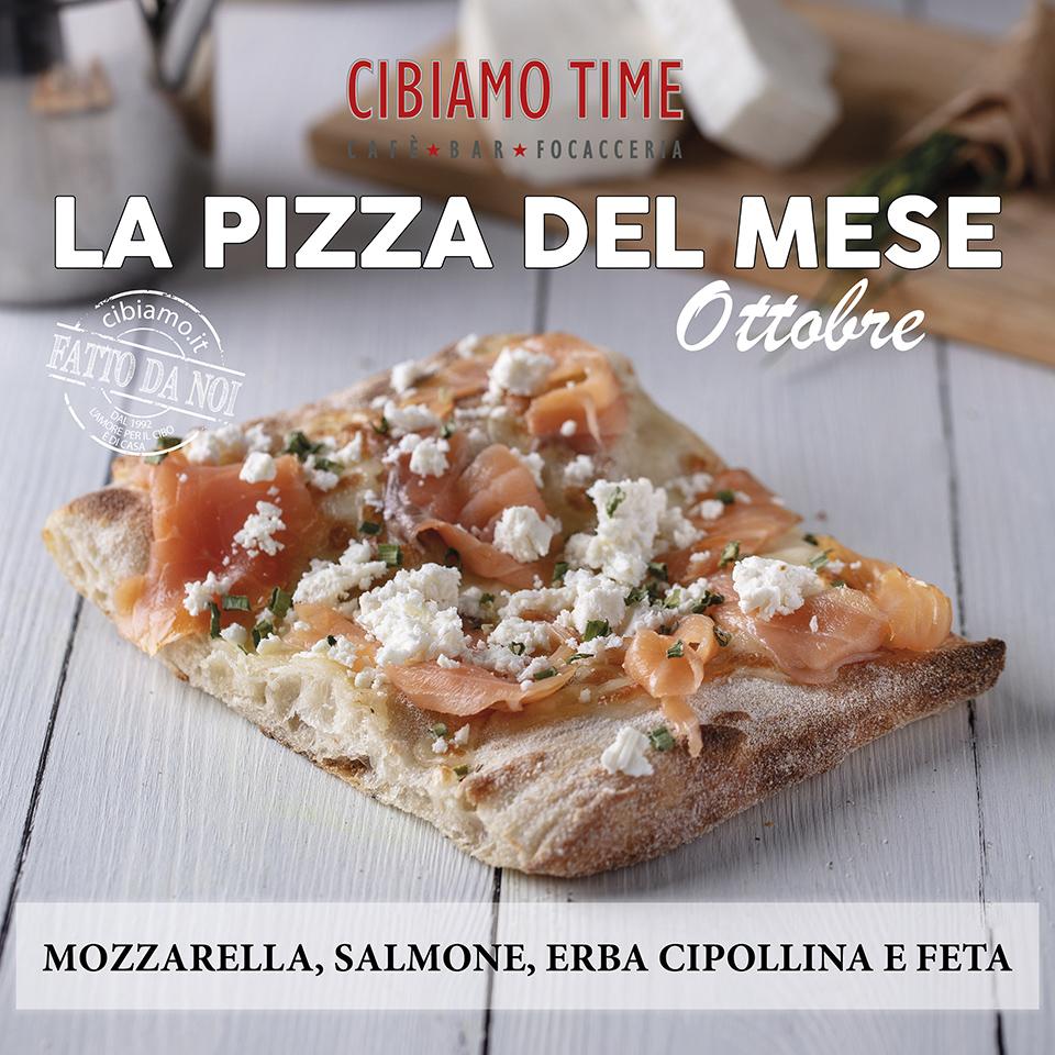 Cibiamo Time Pizza del mese OTTOBRE 2019