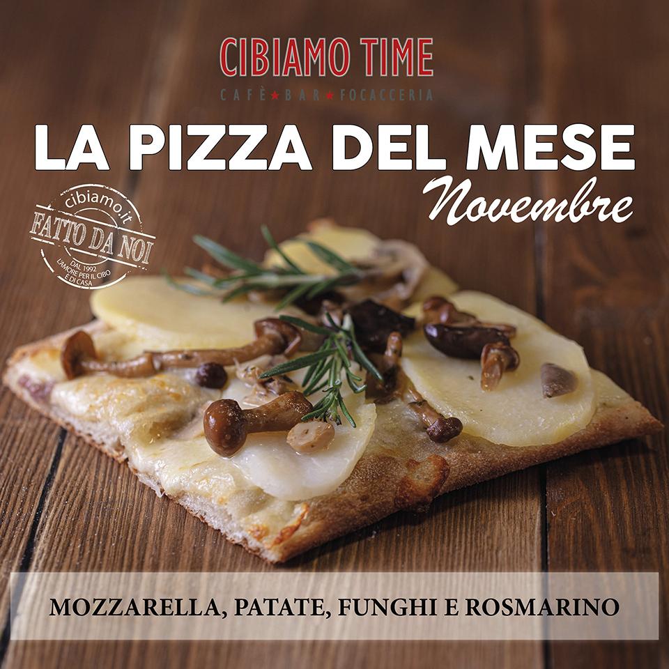 Cibiamo Time Pizza del mese NOVEMBRE 2019