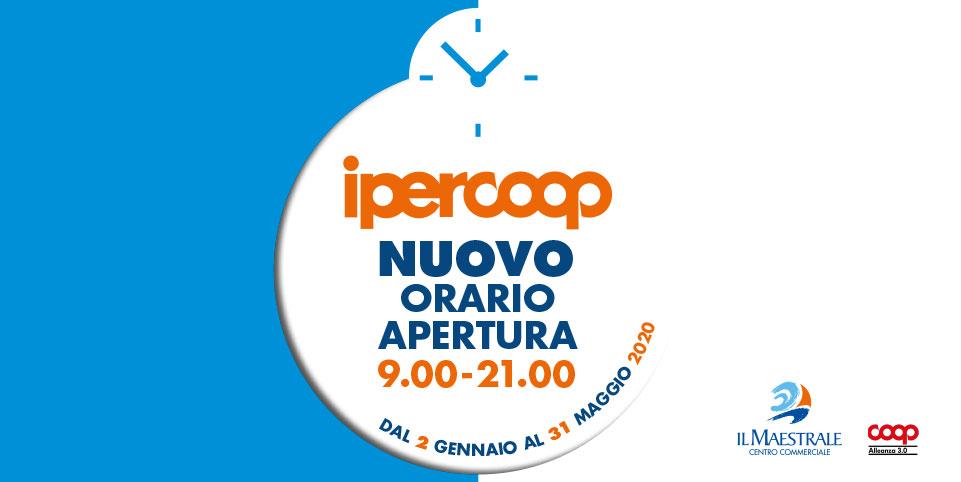 Nuovo Orario Ipercoop