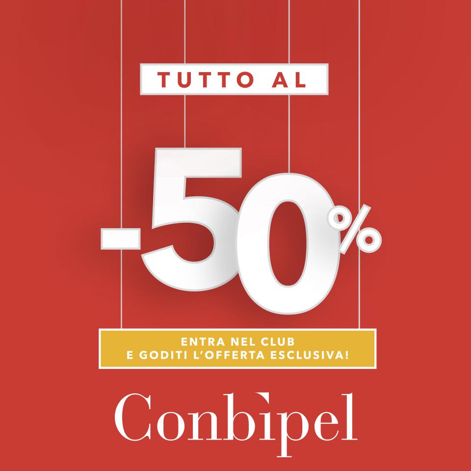 50% per i soci Conbipel