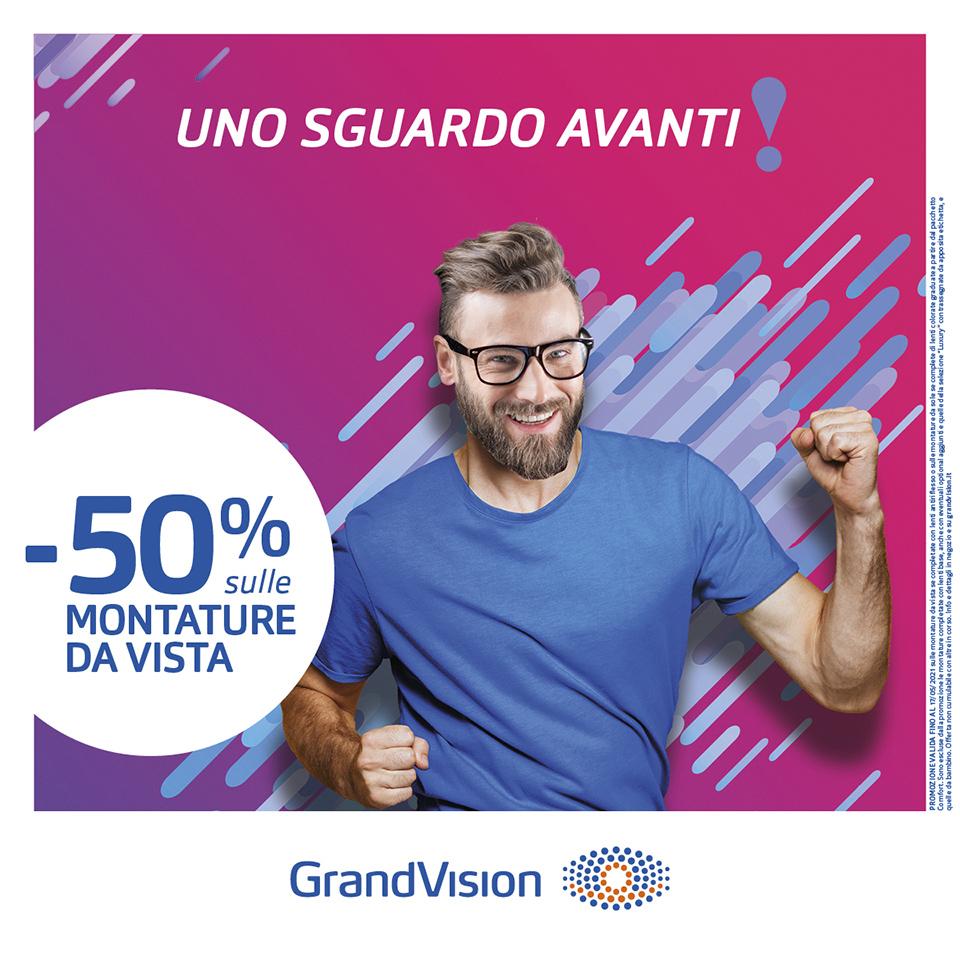 Guarda avanti con GrandVision!